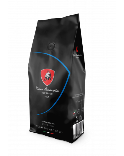 TONINO LAMBORGHINI CAFFEINE FREE (GROUND) 200 g