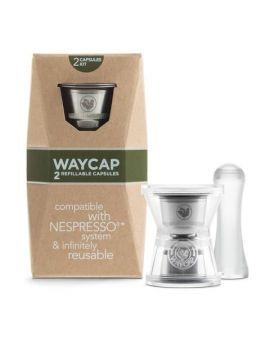 WAYCAP Refillable Nespresso capsule complete kit